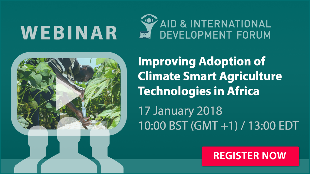Webinar on Improving Adoption Of Climate Smart Agriculture Technologies In Africa