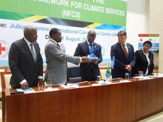 Tanzania creates a National Framework for Climate Services